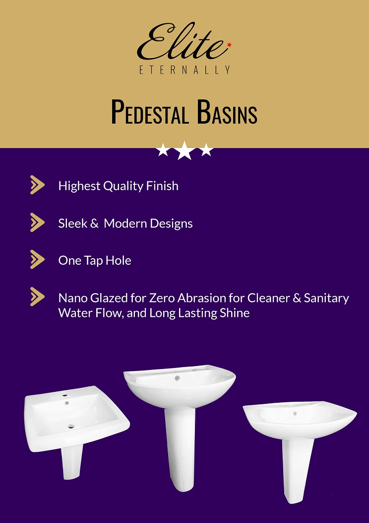 Pedestal Basins - Range