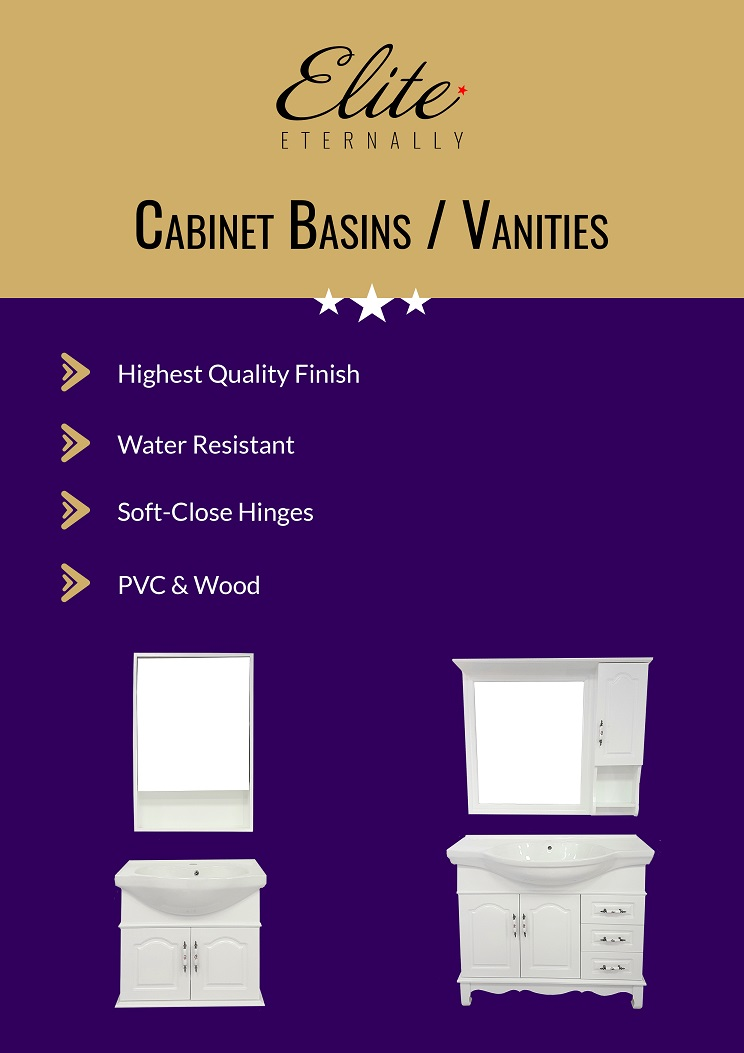 Cabinet Basins & Vanities - Range